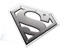 Licenses Products DC Comics Superman Metal Logo Sticker