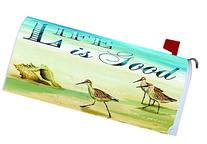 """ Life is Good"" - Ocean & Shells - Mailbox Makover Cover -"