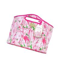 Lilly Pulitzer Beverage Bucket, Pink Colony, Pink