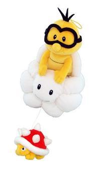 "Little Buddy Official Super Mario Plush 8"" Lakitu/Jyugemu"
