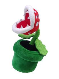 "Little Buddy Official Super Mario Plush - 9"" Piranha Plant"