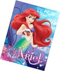 Little Mermaid Sea Beauty Ariel 46x60 Micro Raschel Plush