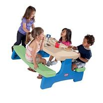 Little Tikes Easy Store Table, Portable Picnic Table, Kids