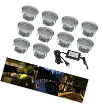 FVTLED Low Voltage LED Deck Lighting Kit Stainless Steel