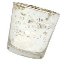 Luna Bazaar Vintage Mercury Glass Candle Holders  - For Use