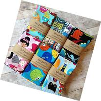 Lunchbox Napkins, Small Cloth Napkins for Kids, Set of 5