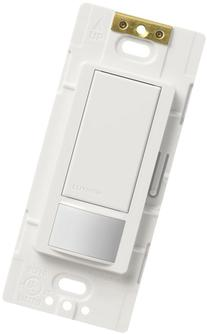Lutron Maestro Motion Sensor switch, no neutral required,