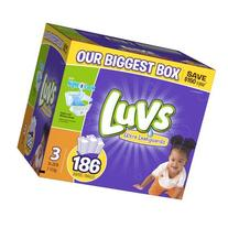 Luvs With Ultra Leakguards Size 3 Diapers 186 Count by Luvs