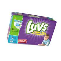 Luvs with Ultra Leakguards, Size 2 Diapers, 40 ea