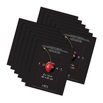 MCS Format Frame, 8 by 10-Inch, Black, 12-Pack
