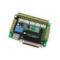 Mach3 CNC Stepper Motor Driver Adapter Breakout Board w USB