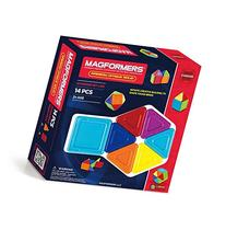 Magformers Standard Rainbow Opaque Solid Set