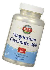 Magnesium Glycinate 400mg  Kal 90 Tabs