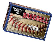 Magnetic Poetry - Baseball Kit - Words for Refrigerator -