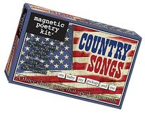 Magnetic Poetry - Country Songs Kit - Words for Refrigerator