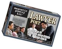 Magnetic Poetry - Lawyer Poet Kit - Words for Refrigerator