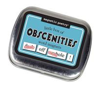 Magnetic Poetry - Little Box of Obscenities Kit - Words for
