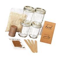 Makerskit Mason Herb Garden Gift Set, Basil/Cilantro/Mint/