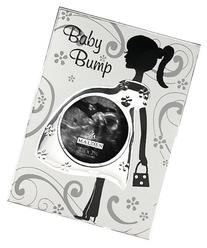 Malden International Designs Baby Bump Metal Baby Memories