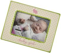 Malden International Designs Ceramic Picture Frame, Baby