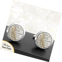 Map Cufflinks Chicago IL Antique Map Cufflinks Handmade City