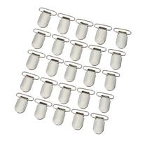 """Marrywindix 25pcs 1"""" Pacifier Suspender Clips for Making"""