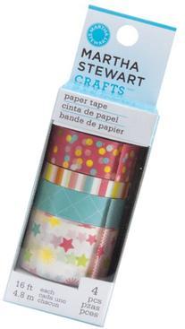 Martha Stewart Crafts Paper Tape, Modern Festive