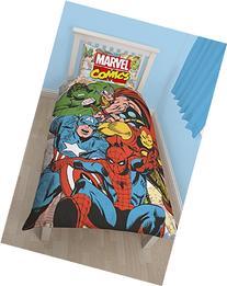 Marvel Comics Justice Reversible Single Duvet