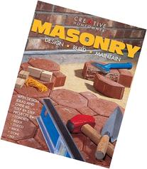Masonry: Design, Build, Maintain