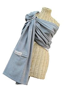 Maya Wrap Lightly Padded Ring Sling - Slate - Medium