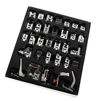 Mcupper-32pcs Domestic Sewing Machine Presser Foot Set For