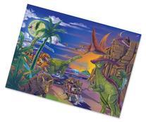 Melissa & Doug 60 Piece Land of Dinosaurs Jigsaw Puzzle
