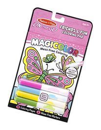 Melissa & Doug On the Go Magicolor Coloring Pad - Friends