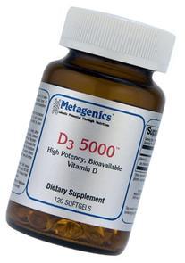 Metagenics - D3 5000, 120 Count