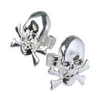 Metallic Skull Rings
