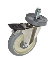 "Metro 5MDBA Super Erecta 5"" Diameter Wheel Brake Stem Caster"