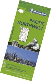 Michelin USA Pacific Northwest Map 171