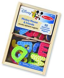 Melissa & Doug Disney Mickey and Friends Wooden Alphabet