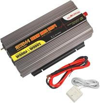 MicroSolar - 12V 2000W  Pure Sine Wave Inverter - with