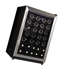 Midea WHS-169WES1 45-Bottle Free Standing Wine Cooler,