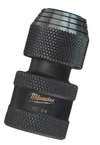 Milwaukee 48-03-4410 Shockwave 1/2-Inch Square by 1/4-Inch