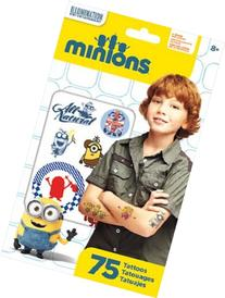 Minions Movie Despicable Me Tattoos 75 ct