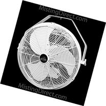 Misting Direct White 18 Inch Indoor/Outdoor Wall/Ceiling/
