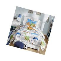 Mi Zone Kids Little Foot Twin Bedding Sets Boys Quilt Set -