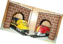 Model Railroad HO Gauge Tunnel Portal - Set of 2