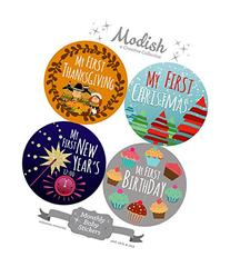 Modish - Creative Collective 12 First Holiday Baby Stickers