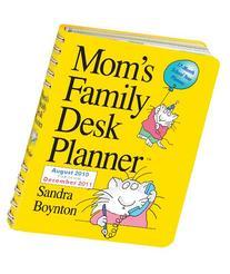 Mom's Family Desk Planner 2011