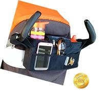 Momwize stroller organizer  fits oversized phones and wider