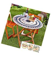 Mosaic Custom-Fit Table Covers