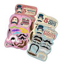 Mr. Moustachio's Facial Hair Four Pack: Top Ten Manliest,